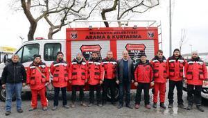 Mudanya Arama Kurtarma ekipleri Bursaya döndü