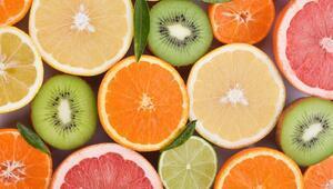 Gribal enfeksiyonlara kış meyveleri ile savaş açın