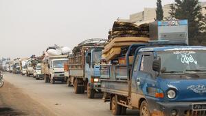 Son dakika haberi: Esed rejimi güçleri İdlib'in en büyük ilçesi Marat El-Numana girdi