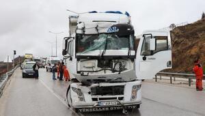 Burdurda 5 araçlık zincirleme kaza: 1 yaralı