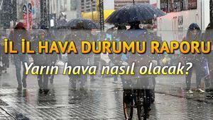 İstanbulda kar yağacak mı Yarın hava nasıl olacak 29 Ocak Türkiye geneli hava durumu