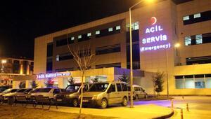 Kalorifer kazanından sızan gazdan etkilenen 12 kişi hastaneye başvurdu