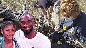 Son Dakika Haberi   Kobe Bryant ve kızının öldüğü helikopter kazasının enkaz görüntüleri paylaşıldı Şok eden detay...