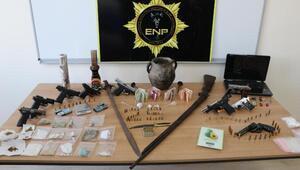 Erzurumda uyuşturucu satıcılarına operasyon