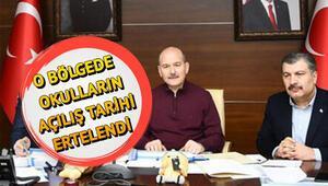 Elazığ ve Malatyada okullar ne zaman açılacak