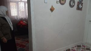 Diyarbakırda 30 binada hasar tespit edildi, 2 katlı bina boşaltıldı
