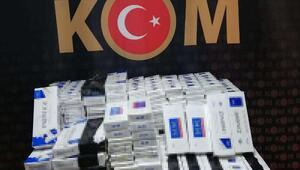 Araçtan 2 bin 370 paket kaçak sigara çıktı