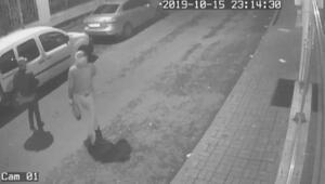 Gürcü hırsızlık çetesi üyeleri kamerada