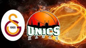 Galatasaray Doğa Sigorta - Unics Kazan EuroCup maçı ne zaman, saat kaçta, hangi kanaldan canlı yayınlanacak