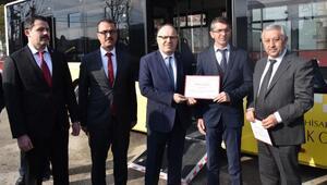 Afyonkarahisarda otobüslere erişebilirlik belgesi