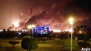 Son dakika haberler... Reuters duyurdu: Husiler Aramco tesislerini vurdu