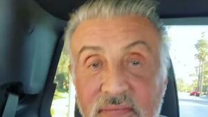 Stallone gri saçlarıyla takipçilerini şaşırttı