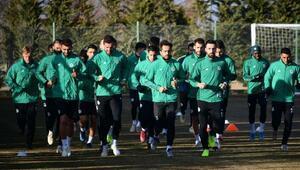 İttifak Holding Konyasporda Antalyaspor mesaisi sürüyor