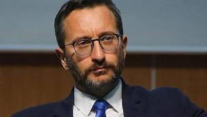 İletişim Başkanı Fahrettin Altundan uluslararası topluma çağrı