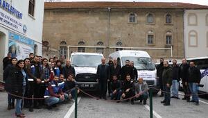 Mudanya'nın yardım aracı Elazığ'a yola çıktı