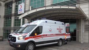 Sobadan sızan gazdan zehirlenen 5 kişi, hastanelik oldu