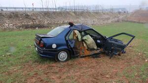 Adıyamanda iki otomobil çarpıştı: 1 ölü, 3 yaralı