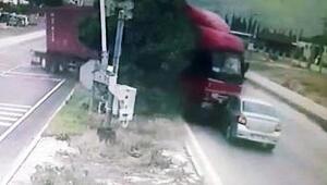 ABDli kadının öldüğü kaza, mobese kamerasında