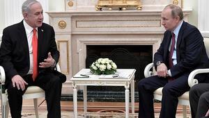 Putin-Netanyahu görüşmesi sona erdi