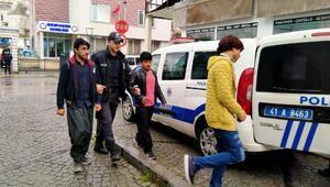 Gölcük'te Afganistanlı 8 kaçak göçmen yakalandı