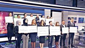 Suriyeli kanal ekran karattı