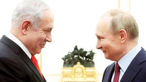 Yüzyılın Anlaşması'nı Putin'e anlattı