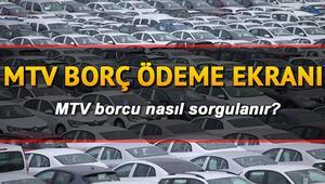 MTV taksit ödeme 2020 nasıl yapılır E devlet MTV borcu sorgulama ve hesaplama ekranı