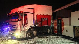 TEMde zincirleme kaza: 1 ölü, 20 yaralı