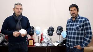 Çinin maske talebini karşılamak için gece- gündüz çalışıyorlar