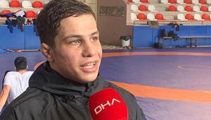 Filistinli güreşçinin tek hedefi Türkiye adına yarışmak