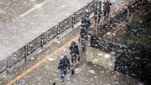 Gaziantepte kar yağışı