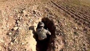 MSB: Komandolar PKK/YPGnin mevzilerini imha ediyor