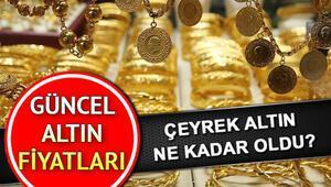 Altın fiyatları kapanışta ne kadar oldu 31 Ocak anlık çeyrek, yarım, tam ve gram altın fiyatları