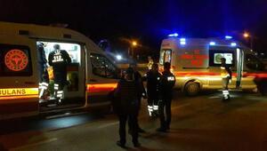 Edirnede iki araç çarpıştı: 4 yaralı
