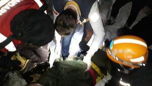 Otomobil şarampole yuvarlandı, aile yaralandı