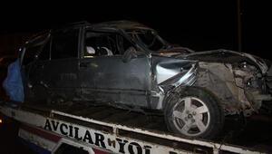 Kaldırıma çarpan otomobil, sahile uçtu: 2 ölü, 2 yaralı