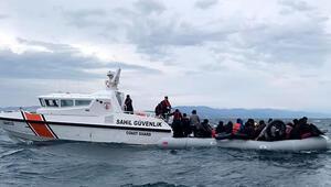 Çanakkalede Ocak ayında 760 kaçak göçmen yakalandı
