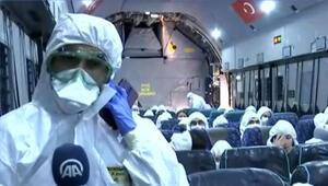 Son dakika haberler: Koca Yusuf Corona virüsü dolayısıyla Çinde tahliyeye başladı İşte görüntüler