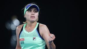 Son dakika   Avustralya Açık Tek Kadınlarda şampiyon Sofia Kenin