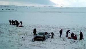 Kayseride otomobil şarampole yuvarlandı: 1 ölü, 5 yaralı