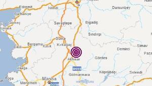 Akhisarda 4.6 büyüklüğünde deprem