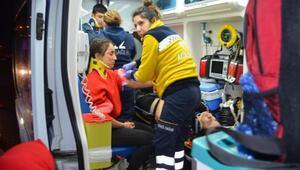 Sömestr tatil dönüşü kaza: 3'ü öğrenci 7 yaralı