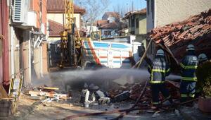 Eskişehir'de doğal gaz patlaması: 1 yaralı