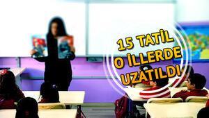 15 tatil hangi illerde uzatıldı Deprem olan yerlerde yarın (3 Şubat) okullar açılacak mı