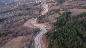 Uludağ'da tatilcilerin dönüş çilesi Kuyruk kilometrelerce uzadı