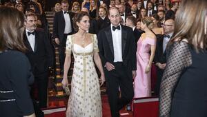 Kate Middleton BAFTA Kırmızı Halı Stili