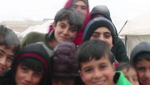 Suriyede bombardımandan kaçan aileler, evlerine dönmek istiyor