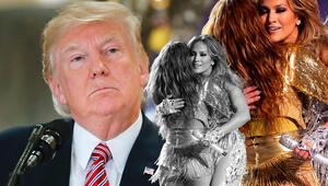 Son Dakika   Super Bowlda Shakira ve Jennifer Lopezli tarihi gece Donald Trumpın sözleri olay oldu...