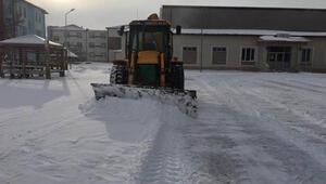 Sivasta 63 köy yolu kar nedeniyle ulaşıma kapandı