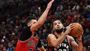 NBAde Bullsu yenen Raptors, üst üste 11. galibiyetini aldı